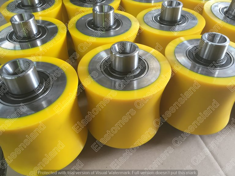 Polyurethane Pipe Rollers